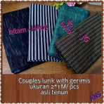 Couples lurik with gerimis