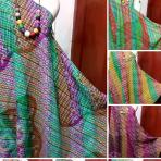 Lurik batik gradasi