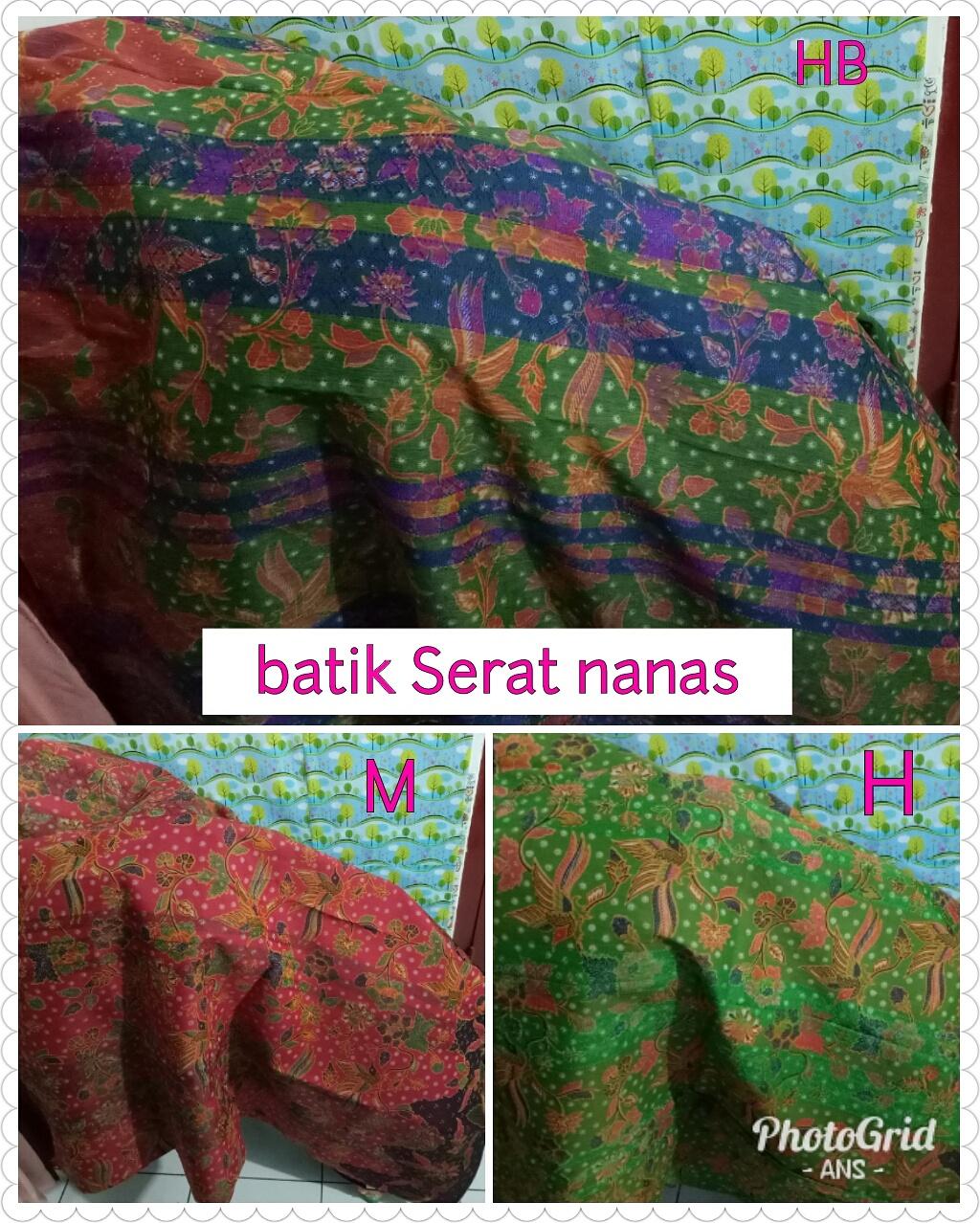 batik serat nanas