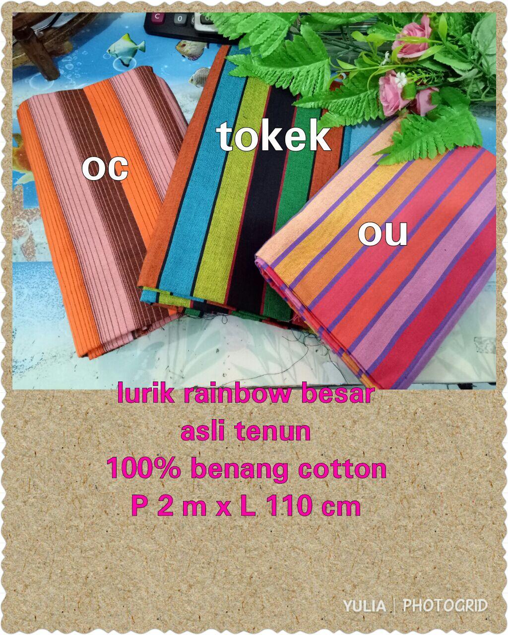 lurik rainbow
