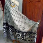 Batik Wayang Hitam Putih