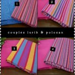 Couples lurik & polosan